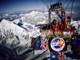 Endeavour: Everest by Balloon