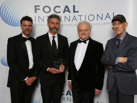 Winners! Dragon pick up the Best Archive Restoration gong at the Focal International Awards 2017